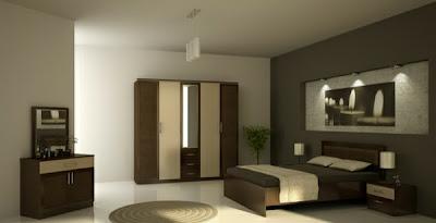 habitación moderna en madera