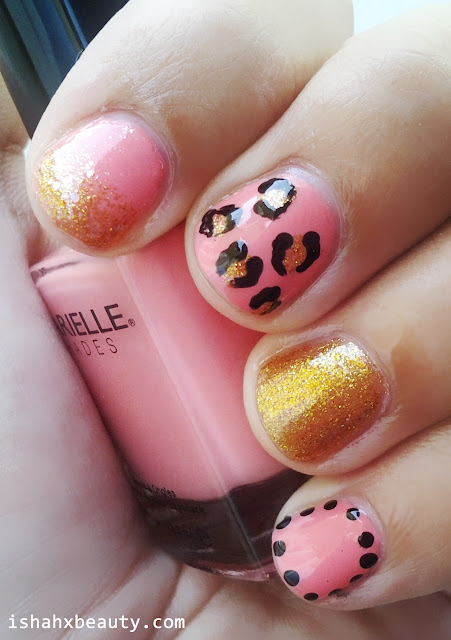 Barielle Blossom Nail Art