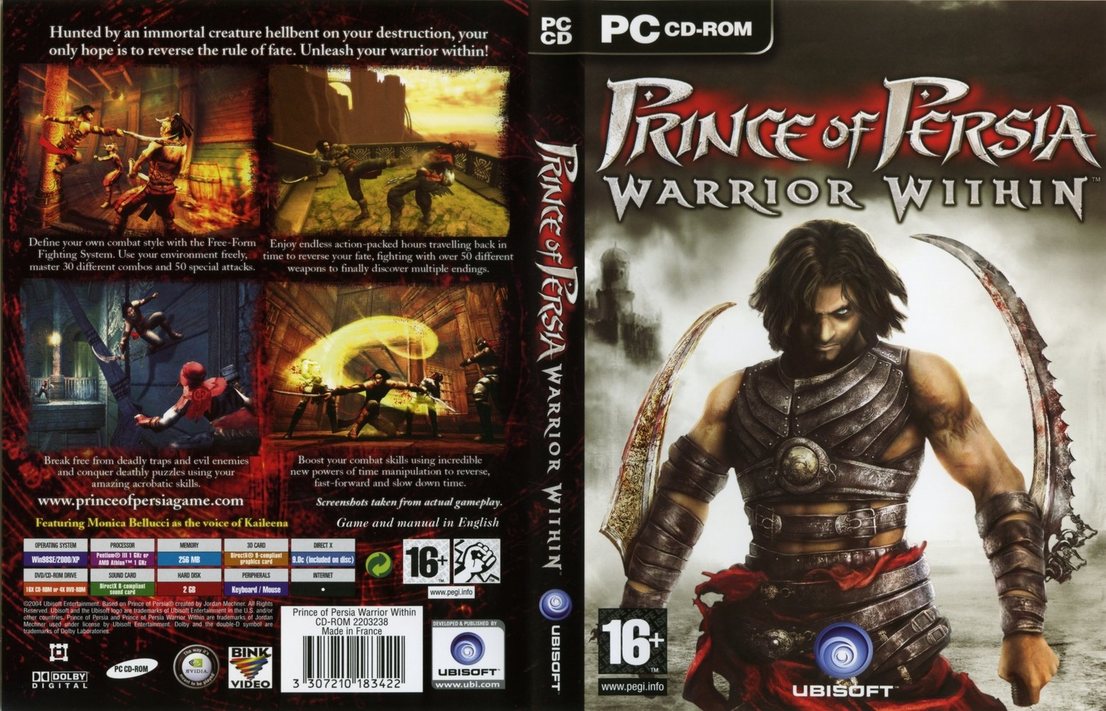 download prince of persia 2 warrior withinrip pc