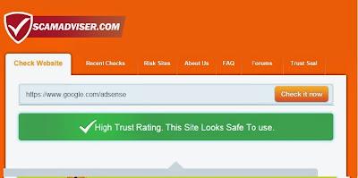 طريقة التأكد من صحة المواقع الربحية على الانترنت لمعرفة هل هي سكام  ام لا  scam