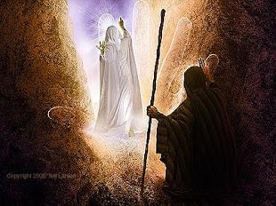 Moisés vê passar a Glória do Senhor