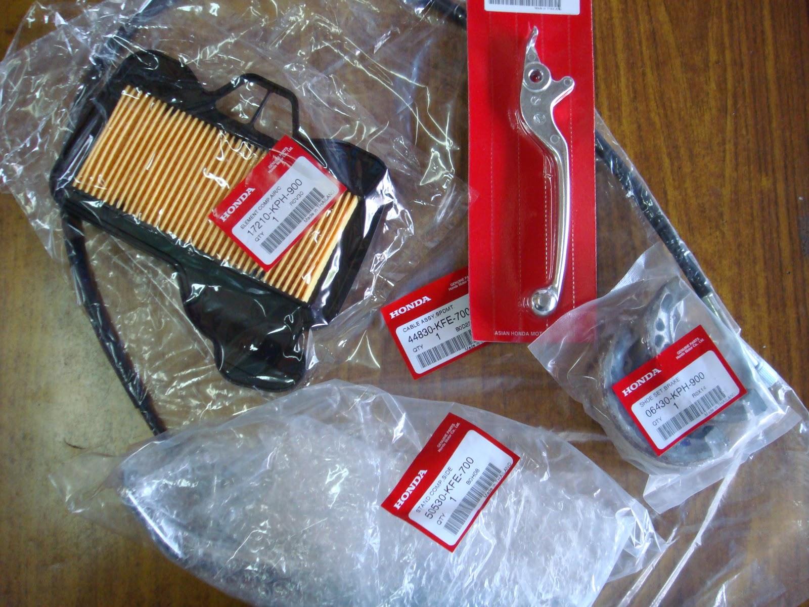 Wonderful Yamaha / Honda Genuine Parts And Shock Absobers
