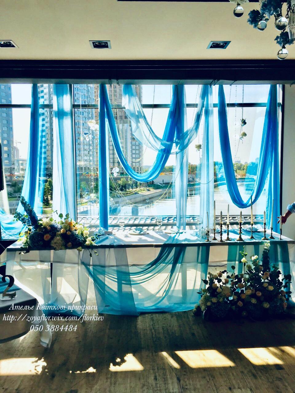 Голубая свадьба в Вилла Ривьера