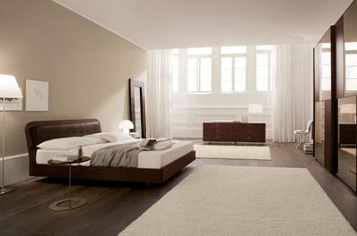 Consigli d 39 arredo il colore marrone nell 39 arredamento - Parete camera da letto tortora ...