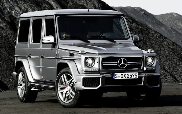 Mercedes-Benz G63 AMG Wallpapers