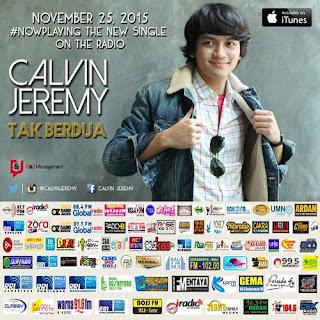 Calvin Jeremy - Tak Berdua