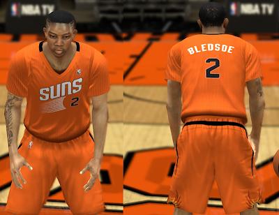 NBA 2K14 Phoenix Suns Jersey Mod Pack