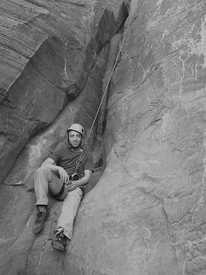 "Climbing ""Wall Street"" in Moab, Utah"