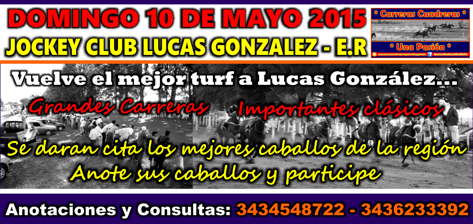 LUCAS GONZALEZ - 10.05.2015