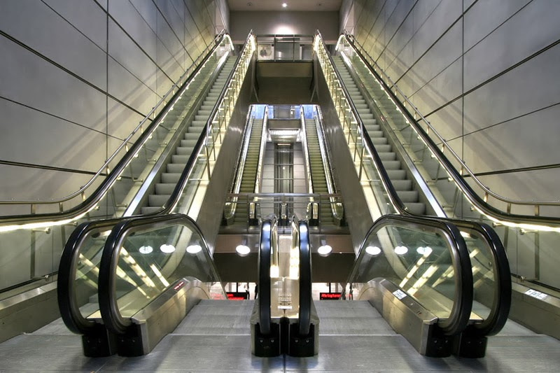 escalators stairs design