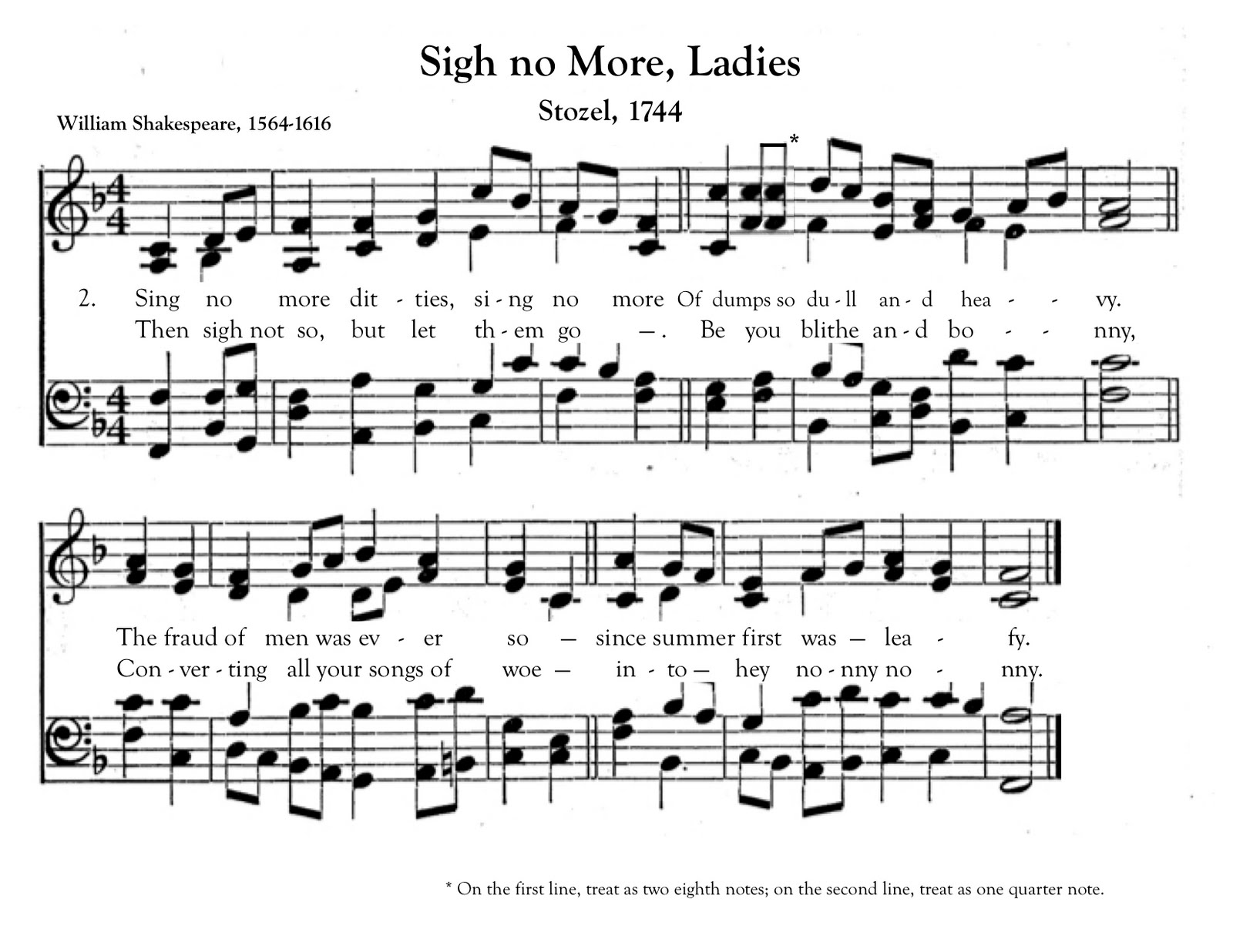 Bardfilm: Sigh No More, Ladies to a New (Old) Tune