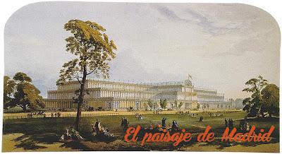el paisaje de Madrid_el palacio de Cristal del parque del Retiro