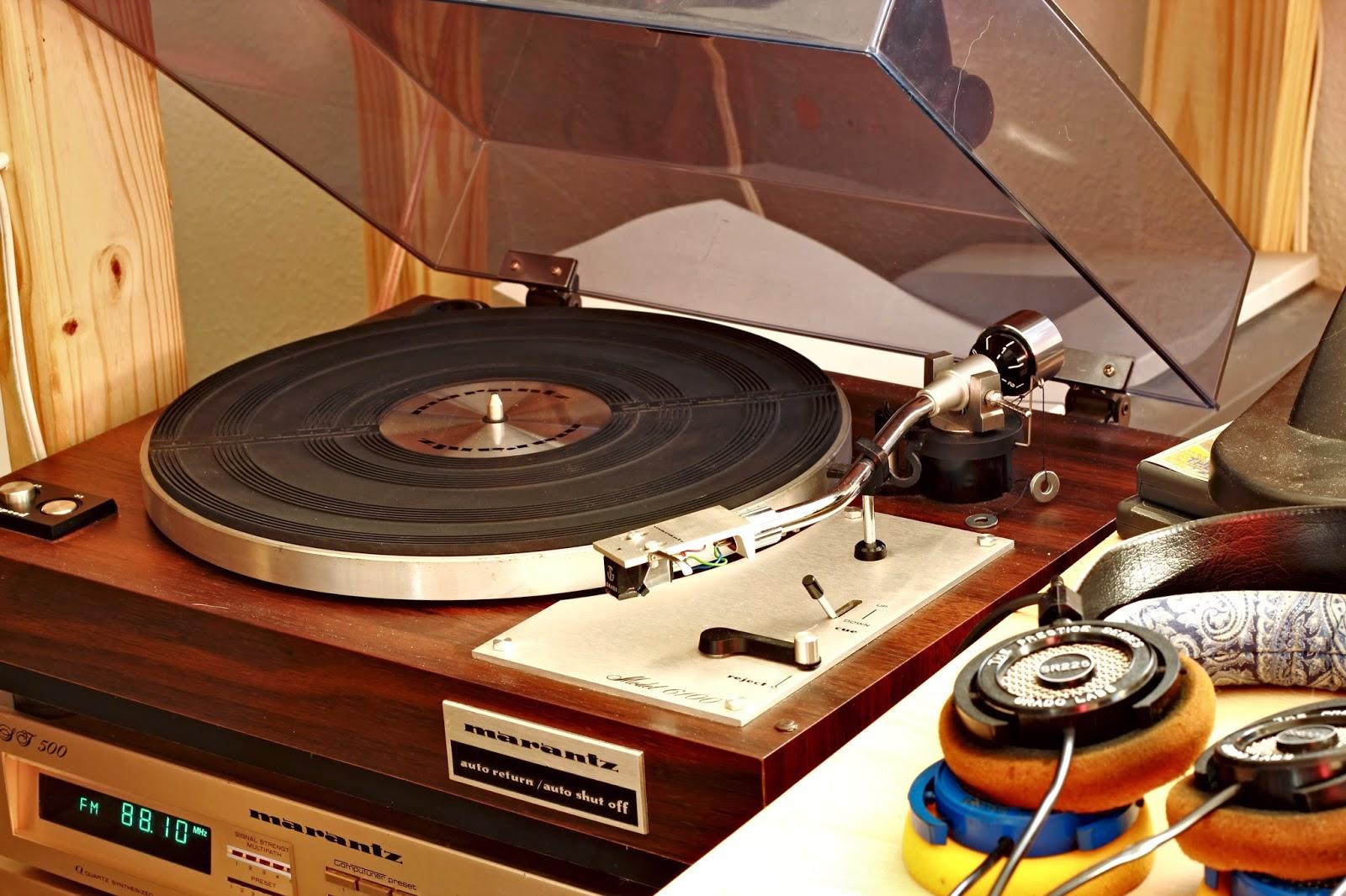 Golden Age Of Audio The Marantz 6100 Turntable