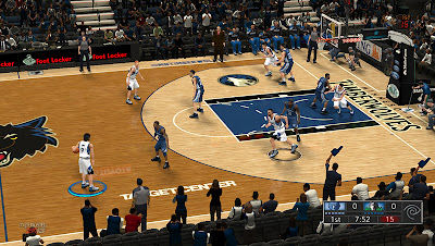 NBA 2K13 Target Center Court Patch