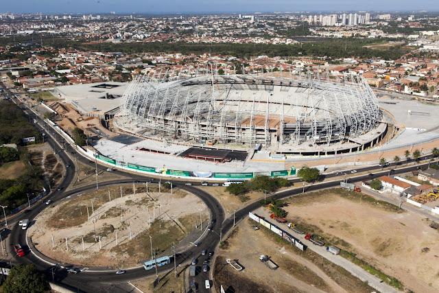 Castelão deve ser inaugurado em dezembro de 2012