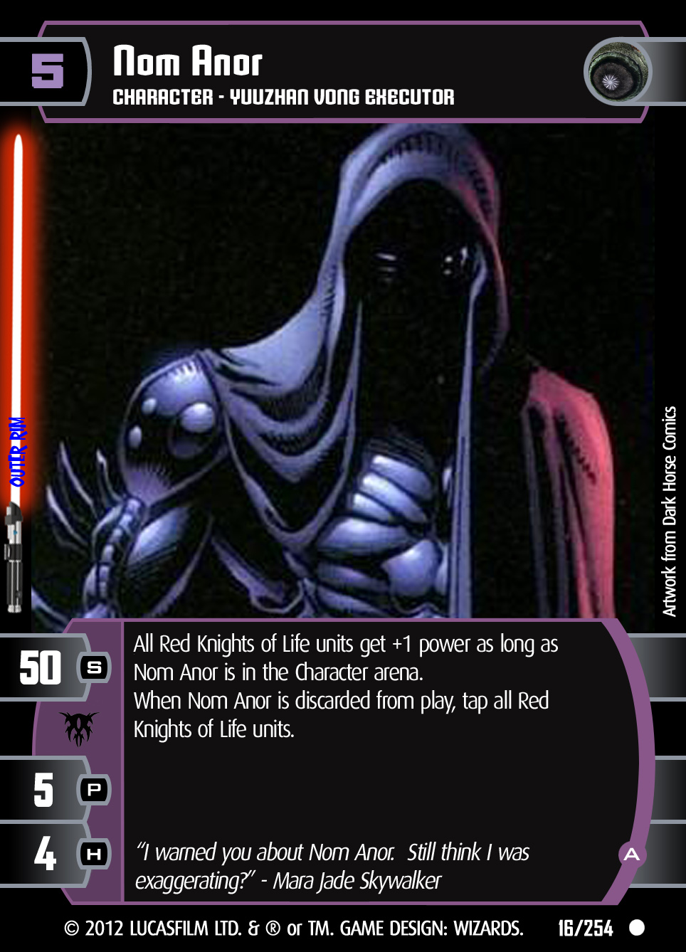 how to play star wars the trading card game