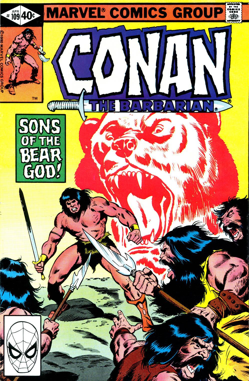 Conan the Barbarian (1970) Issue #109 #121 - English 1