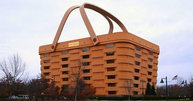Longaberger Basket Office Building Interesting Creative