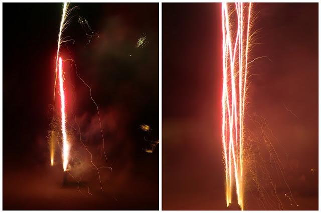 Feuerwerk Fontaene