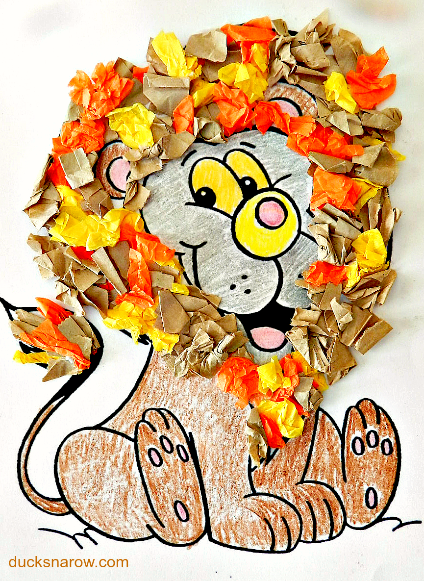 Letter L is for Lion #preschool