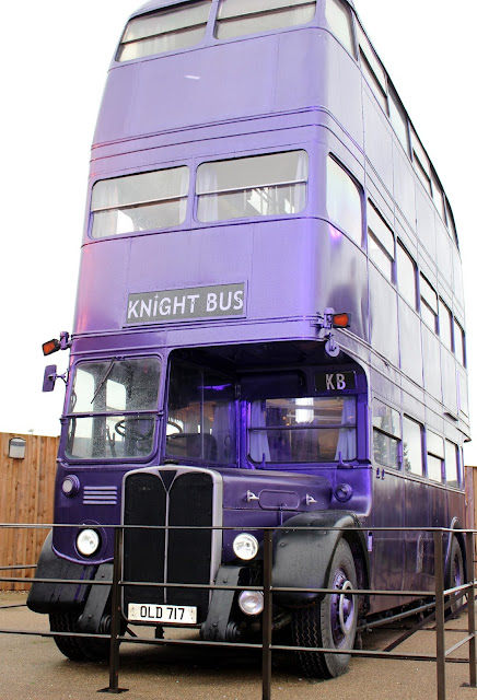 Knight Bus Harry potter studio tour