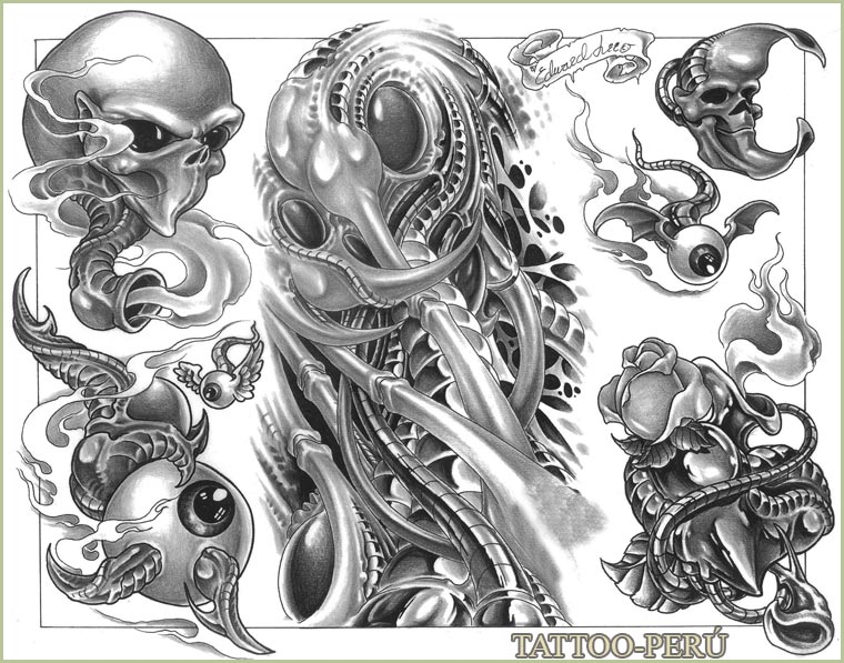 "tattoo peru: tattoo flash ""E"" - descarga gratuita de imagenes tattoo"