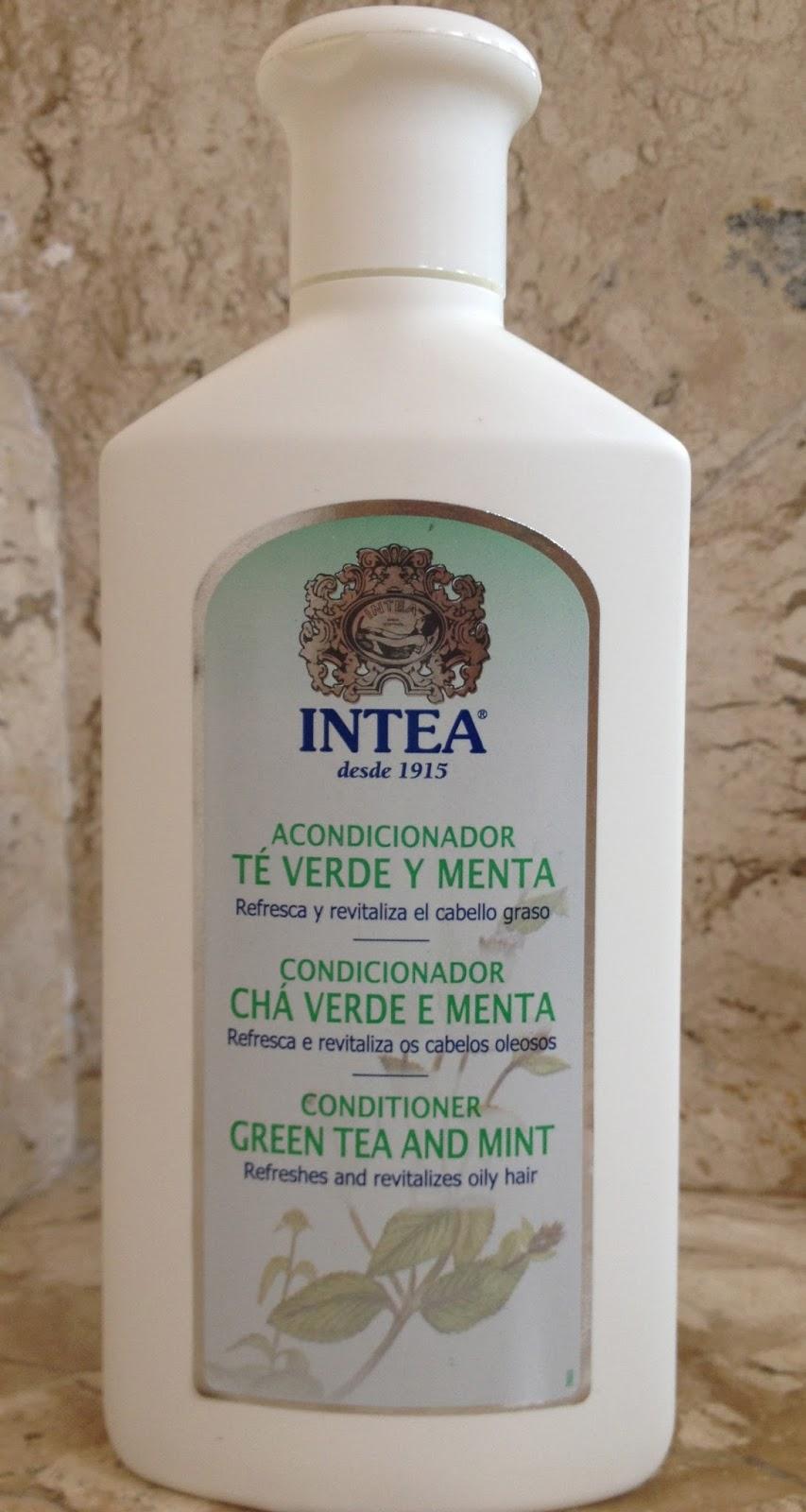 INTEA Shampoo e Condicionador Chá Verde e Menta