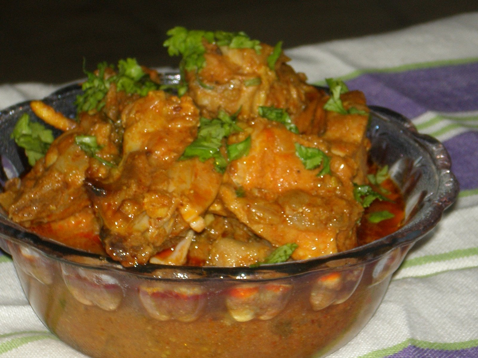 ANGLO-INDIAN FOOD - By Bridget White-Kumar: SIMPLE CHICKEN CURRY