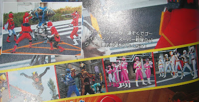 All Red, Pink, and White Gokai Change
