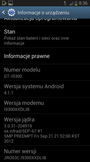 Samsung Galaxy S3 Android Jelly Bean update