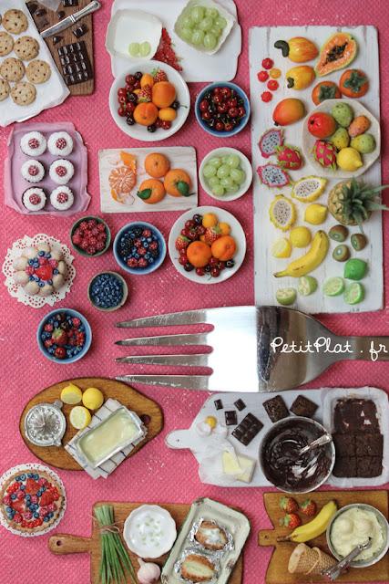 Miniature Food by Petitplat, Stephanie Kilgast