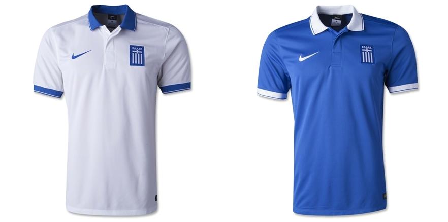 Yunani - Jersey Grade Ori Piala Dunia 2014