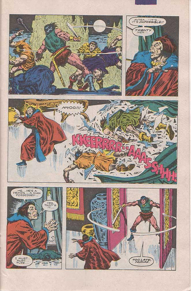 Conan the Barbarian (1970) Issue #189 #201 - English 18