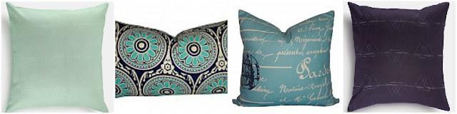 Cool Tones Pillows