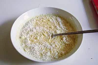 Torta salata agretti e gorgonzola 6