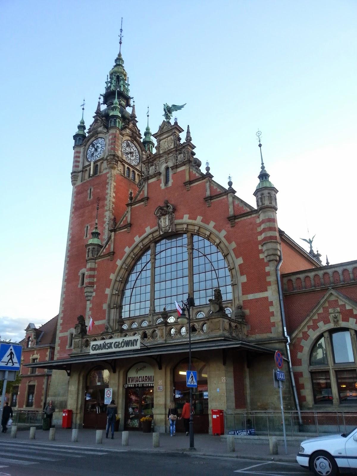 dworzec Gdańsk