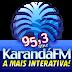 Ouvir a Rádio Karandá FM 95,3 de Naviraí - Rádio Online