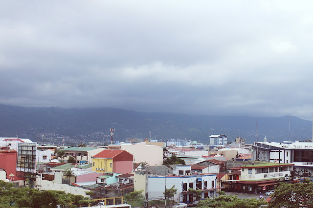 View from the National Museum in San Jose, Costa Rica