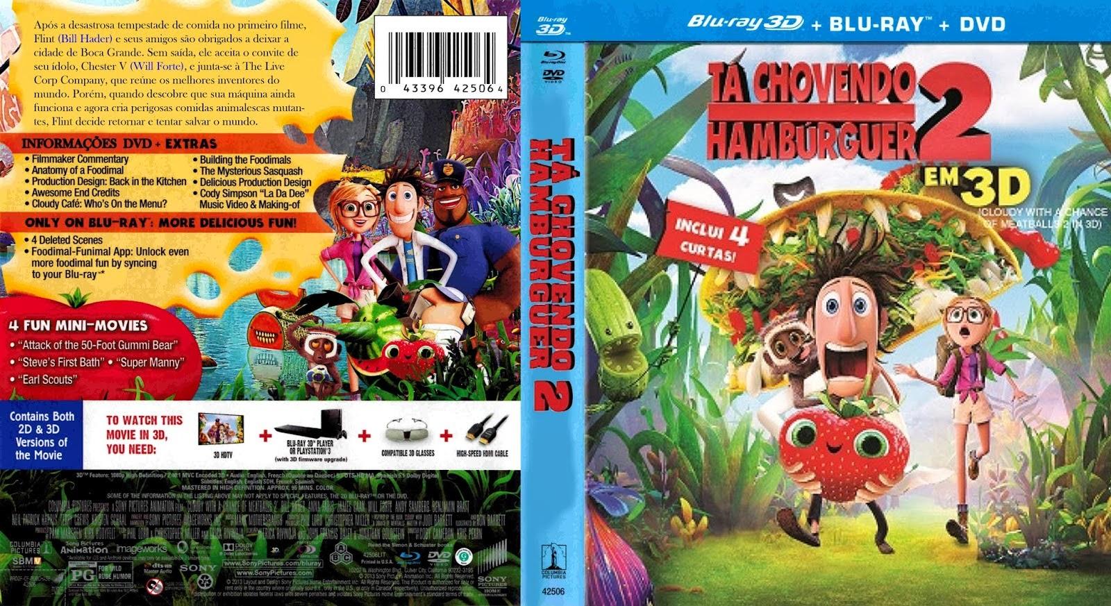 Filme Ta Chovendo Hamburguer Dublado Completo throughout capas filmes animação: maio 2014