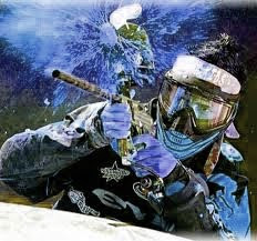 extreme sports paintball
