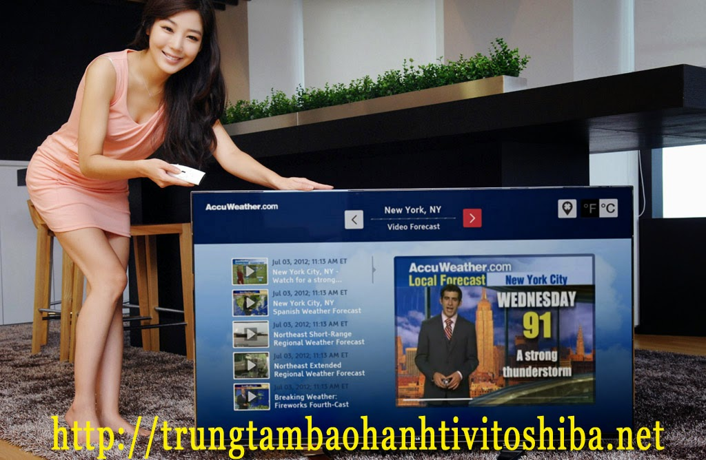 Bảo hành tivi Toshiba của trung tâm sửa tivi tại nhà ở Hà Nội