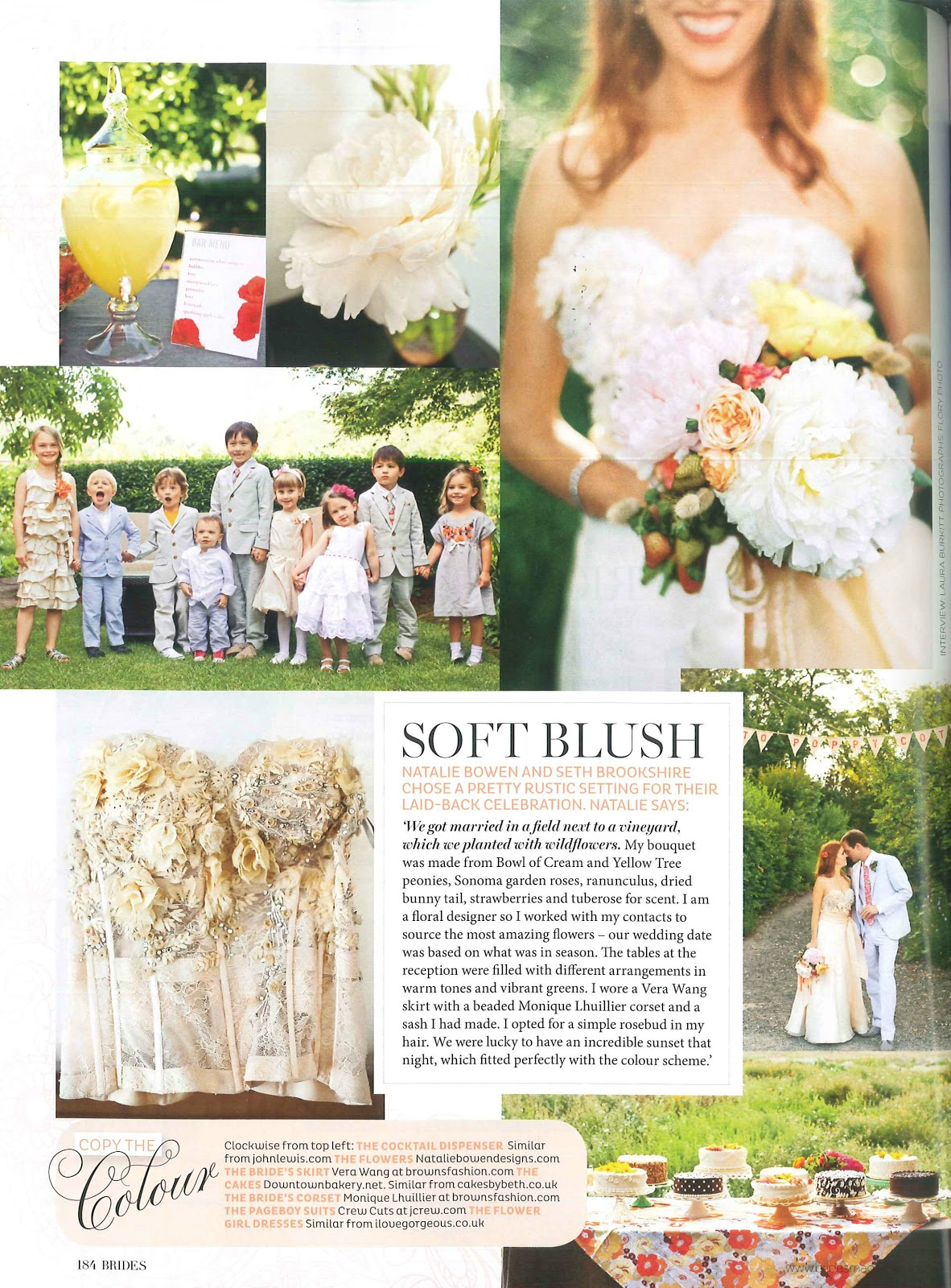 Sonoma valley wedding featured in british brides amy nichols you can enjoy more wedding photos and details in amys behind the scenes orange and red healdsburg wedding post the 100 layer cake feature and the izmirmasajfo