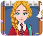 Game tóc đẹp đến trường, game ban gai
