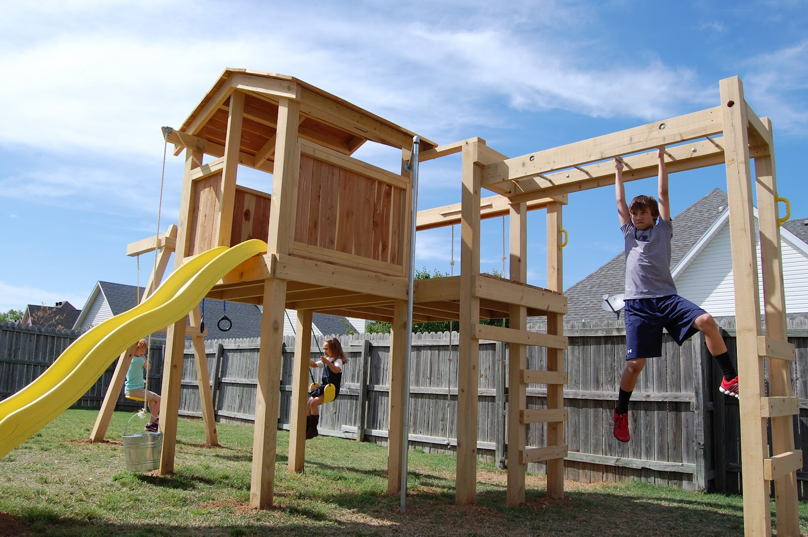 natural state treehouses inc nichols family playset