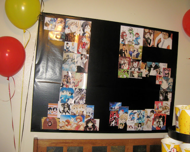 These are pictures of my daughter's favorite anime characters and also some of her favorite Korean pop idols.