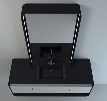 Мебель для ванной комнаты Cross Vanity от Mitchell Say