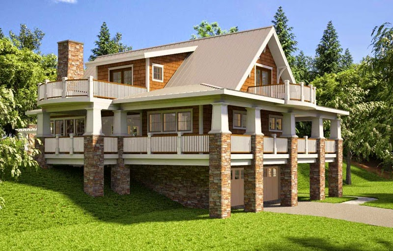 Bungalow house plans with basement and garage 16 photo for Tk homes floor plans