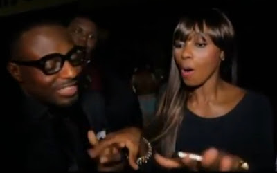 jim iyke fights keturah Hamilton