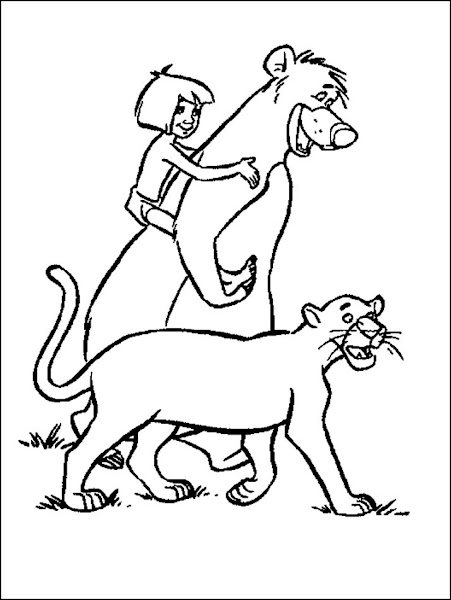 Baloo Jungle Book Coloring Pages - Colorings.net