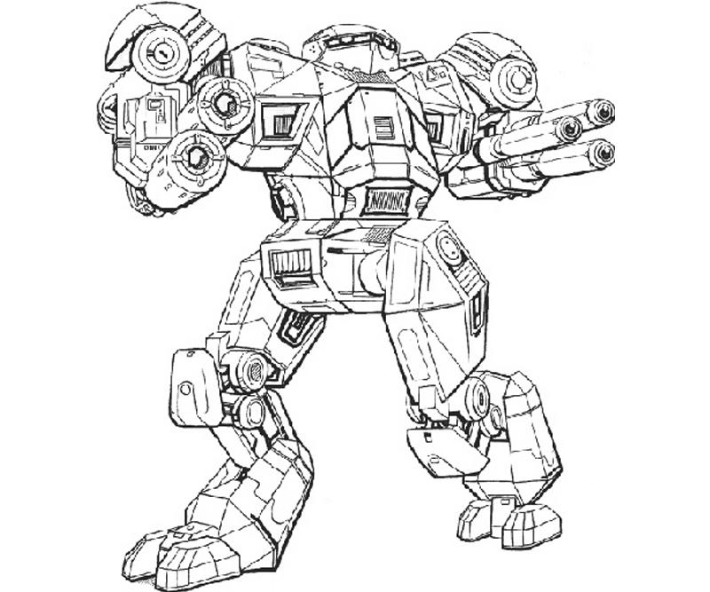 printable-mechwarrior-online-atlas-actions_coloring-pages